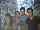 Depois do Fashion Rio, Aparecida e Dylon curtem a noite carioca