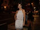 Milena Toscano reúne famosos em restaurante para comemorar aniversário