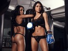 As ring girls do UFC para baixar no seu computador (Robert Schwenk/Paparazzo)