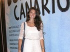 Daniella Sarahyba marca presença em estreia de peça no Rio