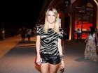 Giovanna Ewbank vai ao Fashion Rio tietar o irmão modelo