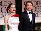 'Você está mais bonito que eu', diz Angelina para Brad no Globo de Ouro