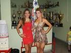 Ex-BBB Mayra Cardi e Miss Bumbum vão a ensaio da X-9 Paulistana