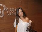 Giovanna Lancelotti se recusa a falar sobre Pe Lanza em estreia de musical