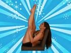 Nana Gouvêa posta versão original de vídeo em que dança na cadeira