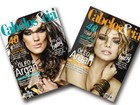 Revista faz capa dupla com Adriana Birolli e Milena Toscano