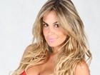 Robertha Portella, do 'Domingão', posa de lingerie para campanha