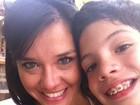 Talula posta foto com o filho no Twitter