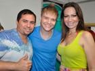 Michel Teló se encontra com cantores do Aviões do Forró na Paraíba