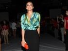 'Estou intensificando a malhação', conta Alinne Rosa