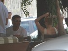 Pasquim e Winits almoçam juntos em meio a rumores de fim de romance