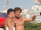Aos 49 anos, Marcello Novaes mostra que está com tudo em cima