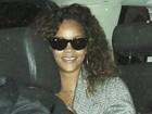 Rihanna e Chris Brown são flagrados saindo da mesma boate