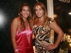 Débora Rodrigues vai à SPFW com a filha; dupla não descarta ensaio nu