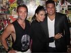 Festa em São Paulo tem Ronaldo, Ashton Kutcher e Alessandra Ambrósio