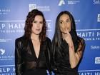 Filhas de Demi Moore não querem medida cautelar contra a mãe, diz site