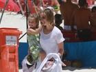 Luiza Valdetaro festeja recuperação da filha: 'Nenhuma célula doente'