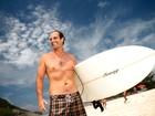 O EGO acompanhou um dia na praia com o ex-BBB Bruno Saladini