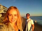 Angélica posta foto das férias: 'Eu e meu amor na Califa'