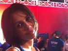 'Vim prestigiar minha amiga Ivete', diz Deborah Secco em Salvador
