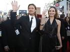 Celebridades passam pelo tapete vermelho do prêmio SAG, em Los Angeles