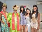 Ex-BBB Ariadna julga concurso da rainha gay do Carnaval de Cubatão