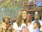 Sophie Charlotte para a Sapucaí durante gravações de 'As Brasileiras'