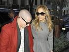 Jennifer Lopez é clicada com o namorado em Nova York