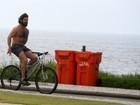 Iran Malfitano exibe 'pancinha' em manhã de exercícios no Rio