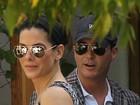 Sandra Bullock aparece em nova companhia, em Los Angeles