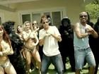 Vídeo: Neymar, Catra e Alexandre Pires dançam com 'King Kongs'