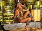 Madrinha de bateria da Tucuruvi, Caroline Bittencourt posa para o EGO