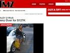 Miley Cyrus compra carro de US$ 127 mil à vista, diz site