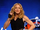 Madonna exibe os braos musculosos em entrevista