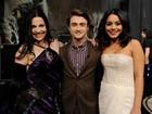 Daniel Radcliffe e Vanessa Hudgens participam de programa de TV