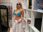 Val Marchiori nega ensaio para a 'Playboy': 'Não fiz e nem vou fazer'