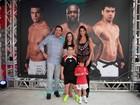 Filhos de Ronaldo e Ticiane vão ao aniversário do filho de Faustão