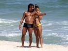 Jornal: Falcão arranja namorada falsa para se desvincular de ex-BBB Fani