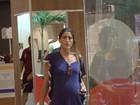 Cynthia Howlett e Fiorella Mattheis vão às compras