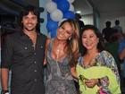 Sabrina Sato comemora aniversário na quadra da Vila Isabel