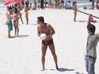 Carlos Machado - ôh, vidão! - grava 'Fina estampa' na praia