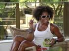 Adriana Bombom foca em dieta para dar volta por cima no carnaval do Rio