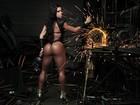 Rainha sarada! Gracyanne Barbosa encarna soldadora em ensaio do EGO