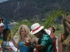 Antônia Fontenelle, Suzana Pires e mais em gravação de videoclipe