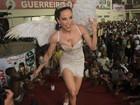 Ana Furtado usa asas em ensaio da Grande Rio