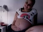 Perlla sobre gravidez no Twitter: 'E cada espirro, já sabem, né? O pipi sai'