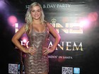 Ex-affair de Latino vai ao aniversário do cantor em São Paulo