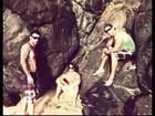 Modelos? Ex-BBBs Mau Mau, Rodrigo e Cristiano posam em praia