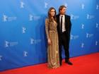Angelina Jolie e Brad Pitt vão à première do filme dirigido por ela