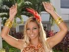 Valesca bloqueia agenda de shows para se preparar para carnaval